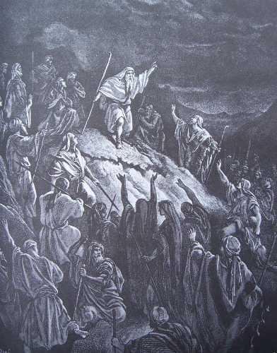 gravure dore bible - mattathias appelle aux armes les juifs refugies dans les montagnes.jpg